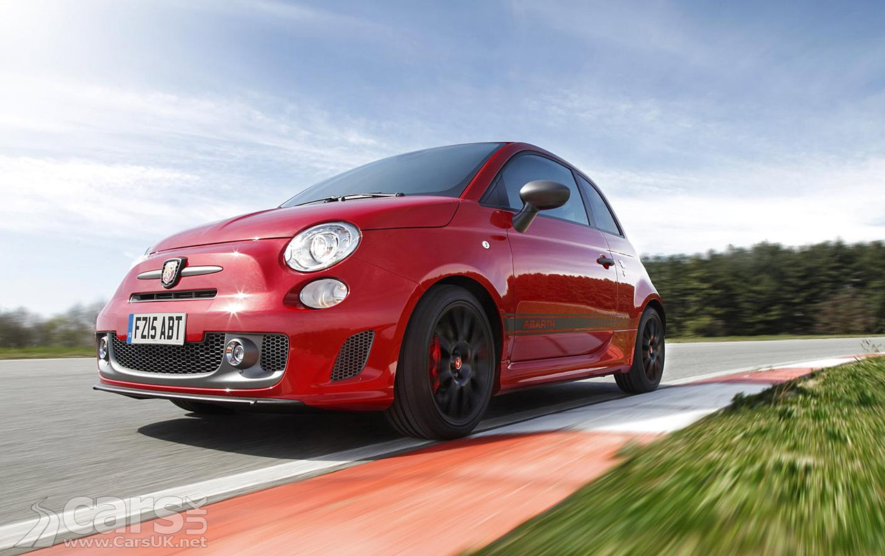 fiat gives the abarth 595 competizione 178bhp costs from 19 890 cars uk. Black Bedroom Furniture Sets. Home Design Ideas