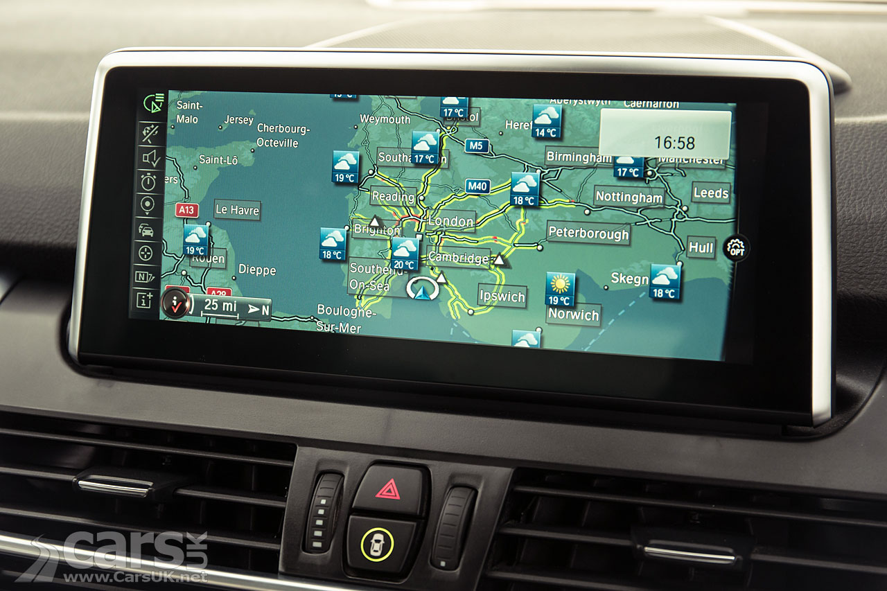 Sat Nav On Every New Bmw From September 2015