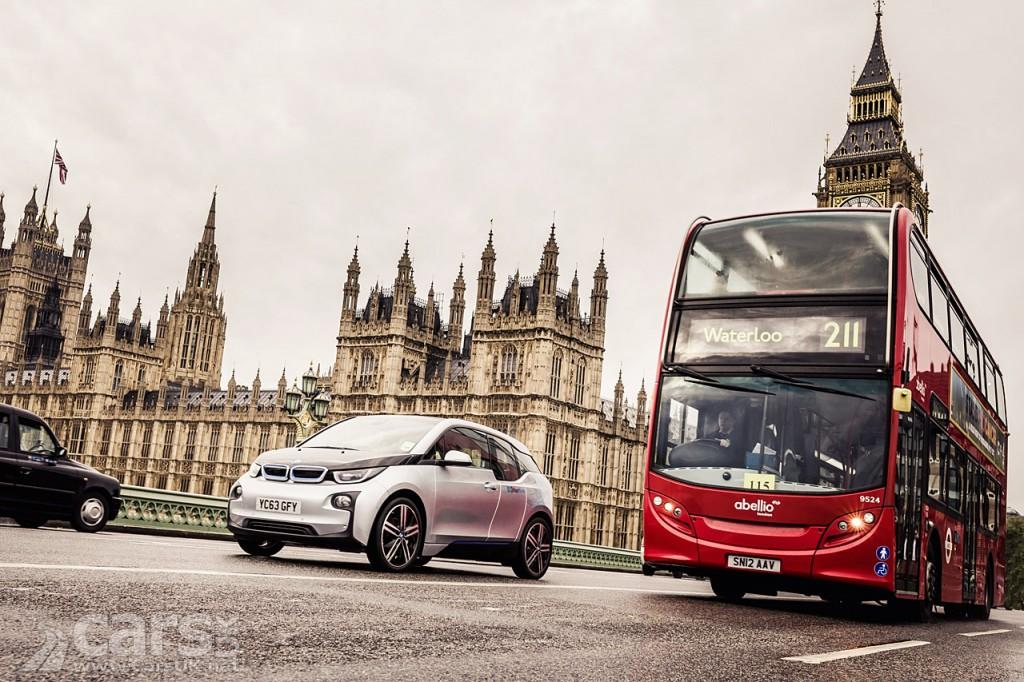 BMW i3 EV joins BMW's London DriveNow car sharing fleet