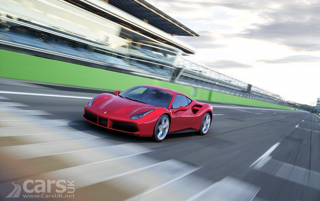 Ferrari 488 GTB dynamic debut at 2015 Goodwood Festival of Speed
