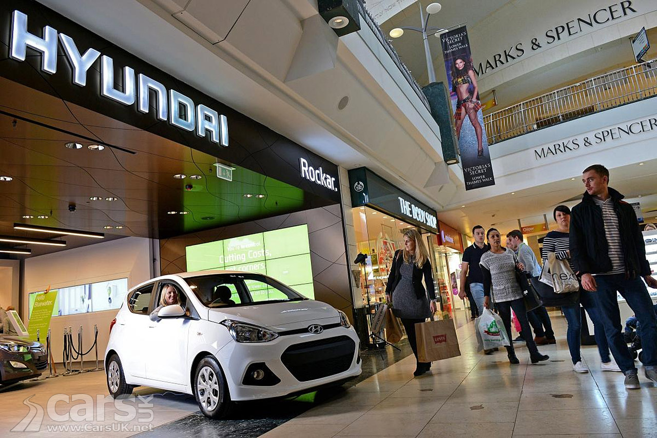 Hyundai Rockar Ing Car Sales At Bluewater Cars Uk