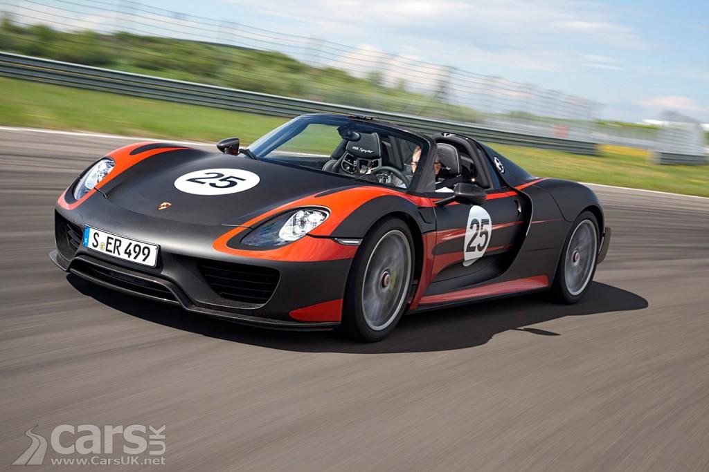 Porsche 918 Spyder recalled again