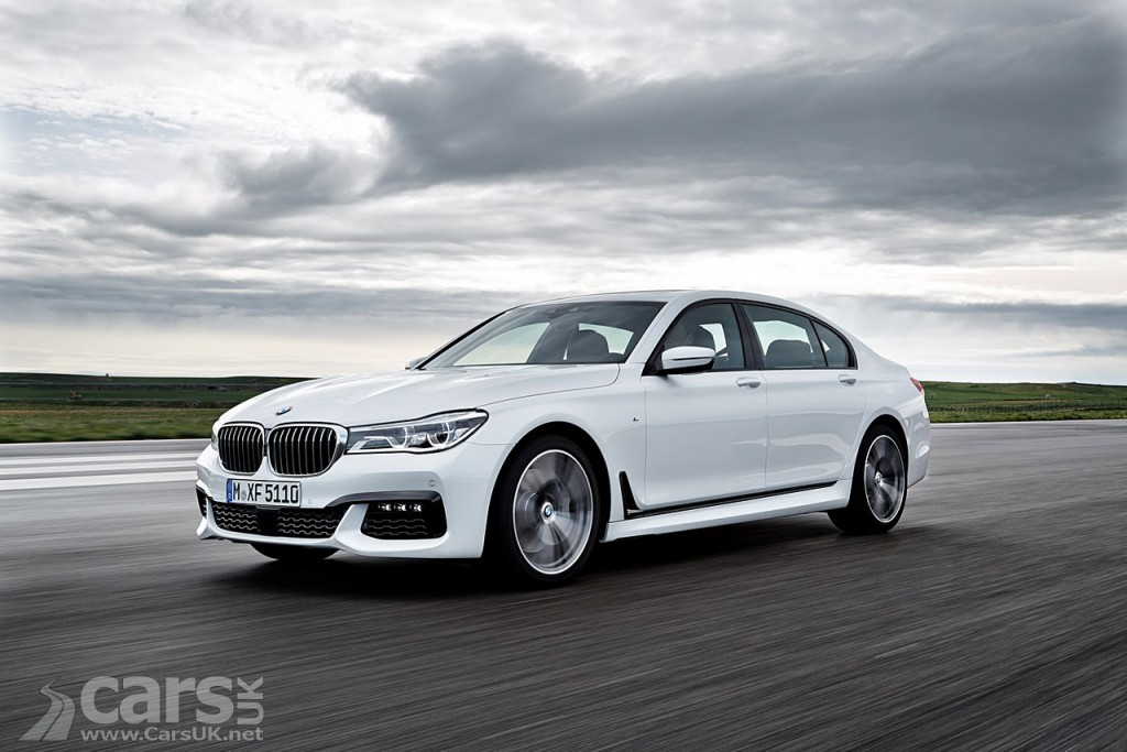 2016 bmw 7 series officially revealed price from 64 530 cars uk. Black Bedroom Furniture Sets. Home Design Ideas