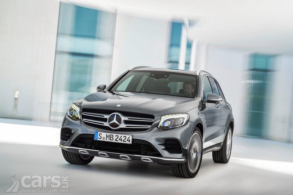 view new Mercedes GLC compact SUV