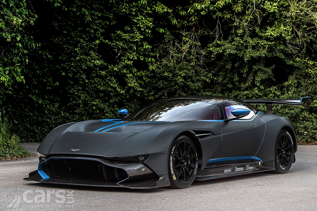 Aston Martin Vulcan Dynamic Debut At Goodwood Festival Of
