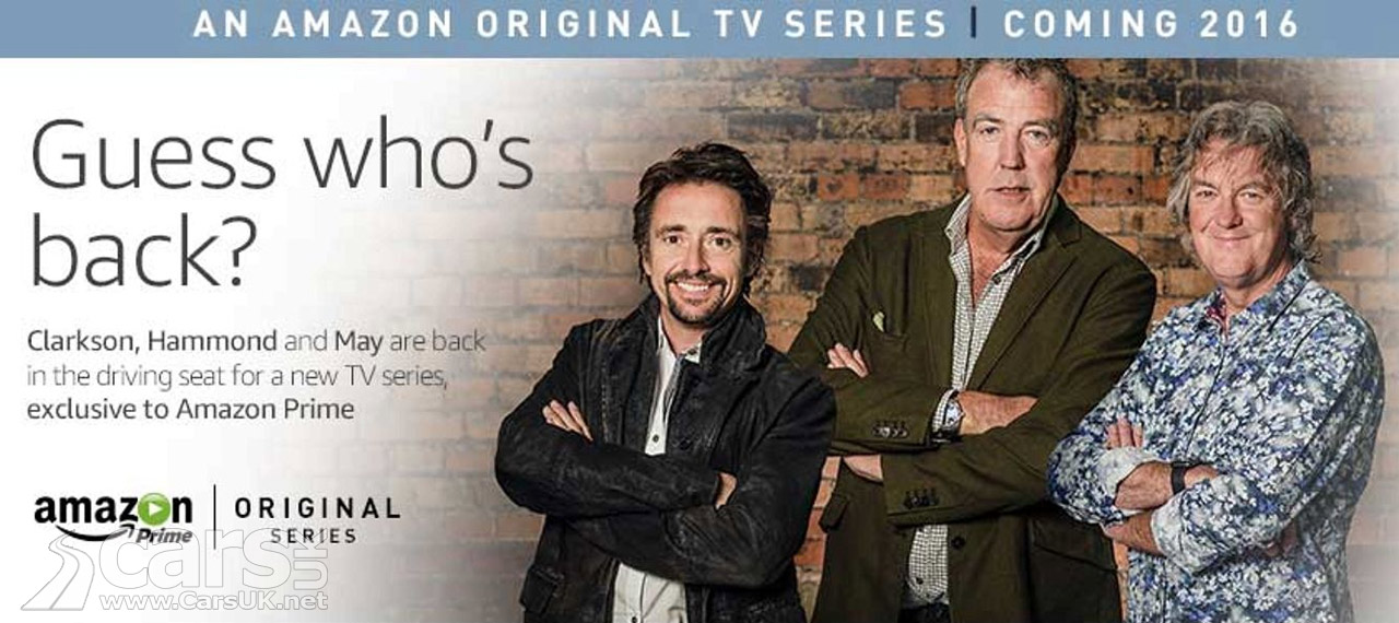 top gear new show for clarkson hammond may with amazon prime cars uk. Black Bedroom Furniture Sets. Home Design Ideas
