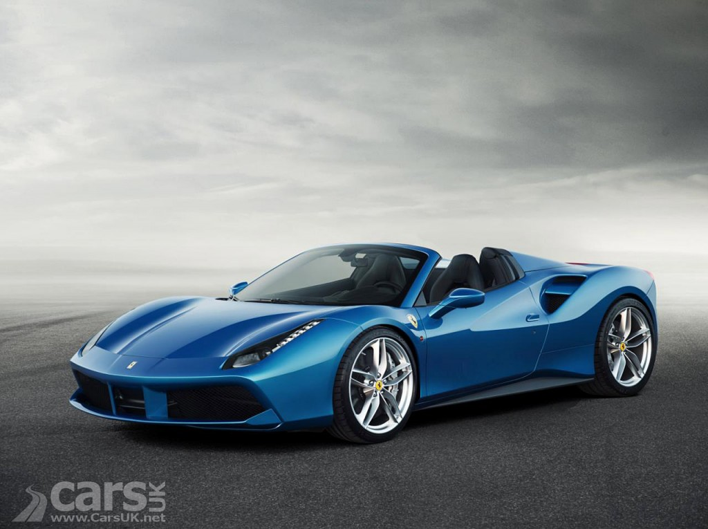 Ferrari 488 Spider arrives ahead of Frankfurt debut