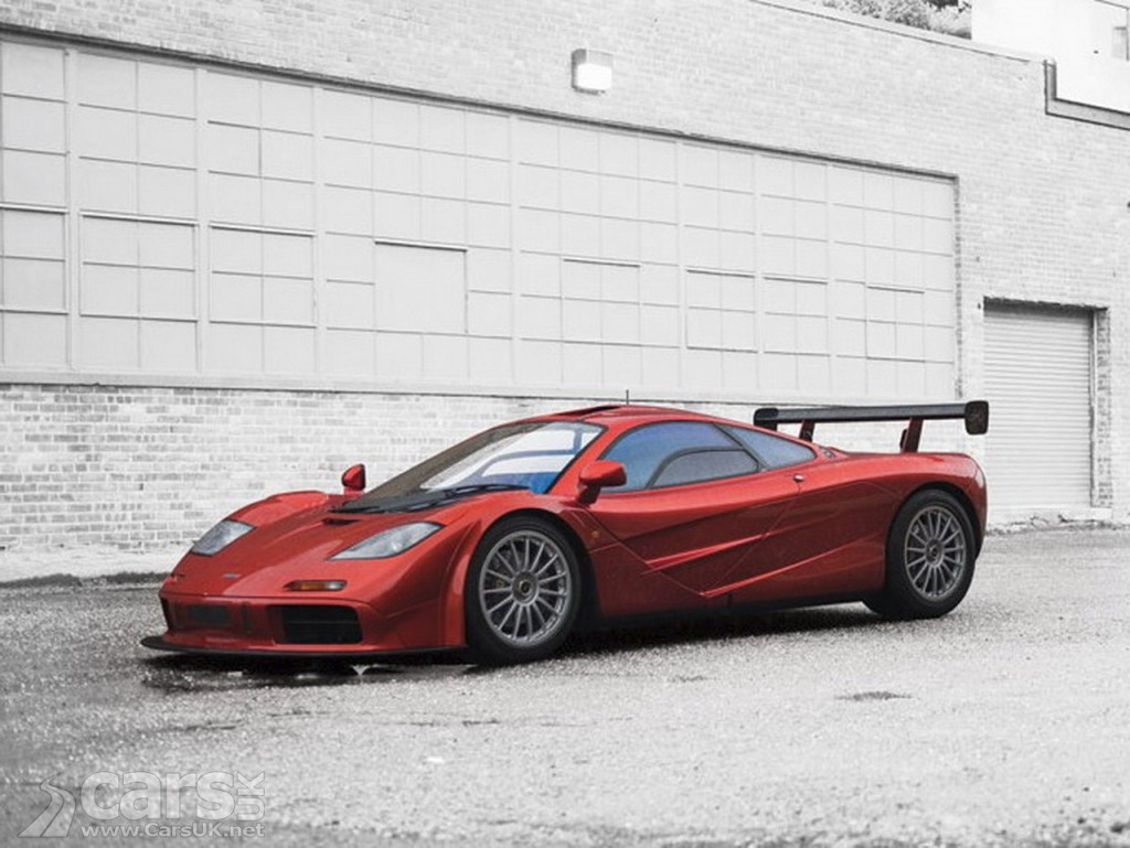 Photo McLaren F1 #073 with LM spec up for auction