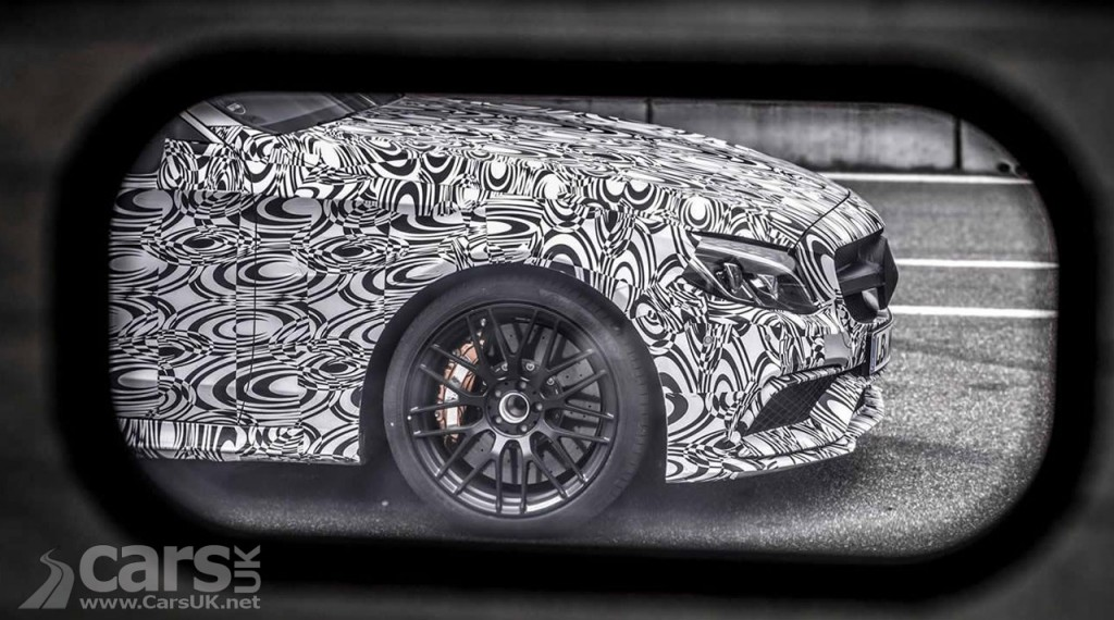 Photo Is this a tease for the Mercedes-AMG C63 Coupe?