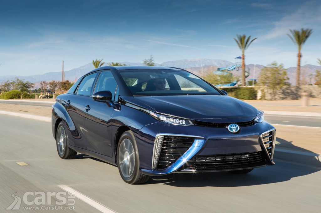 View of Toyota Mirai goes further than any other electric car