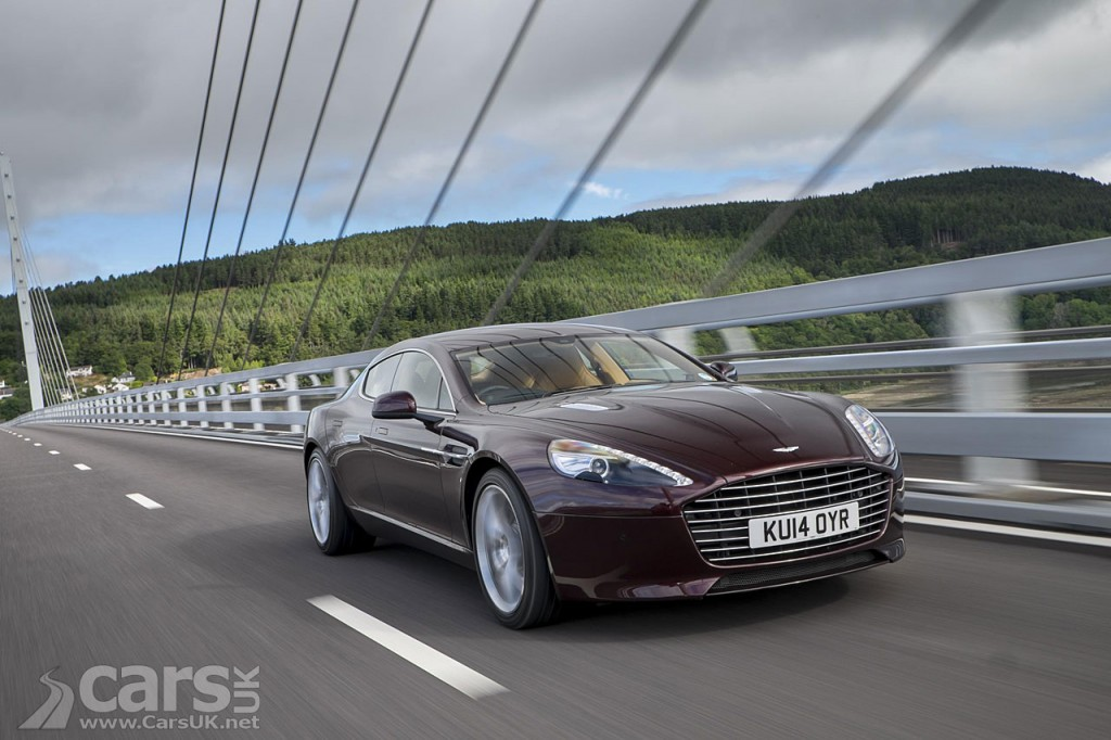 Photo Aston Martin Rapide EV on the way