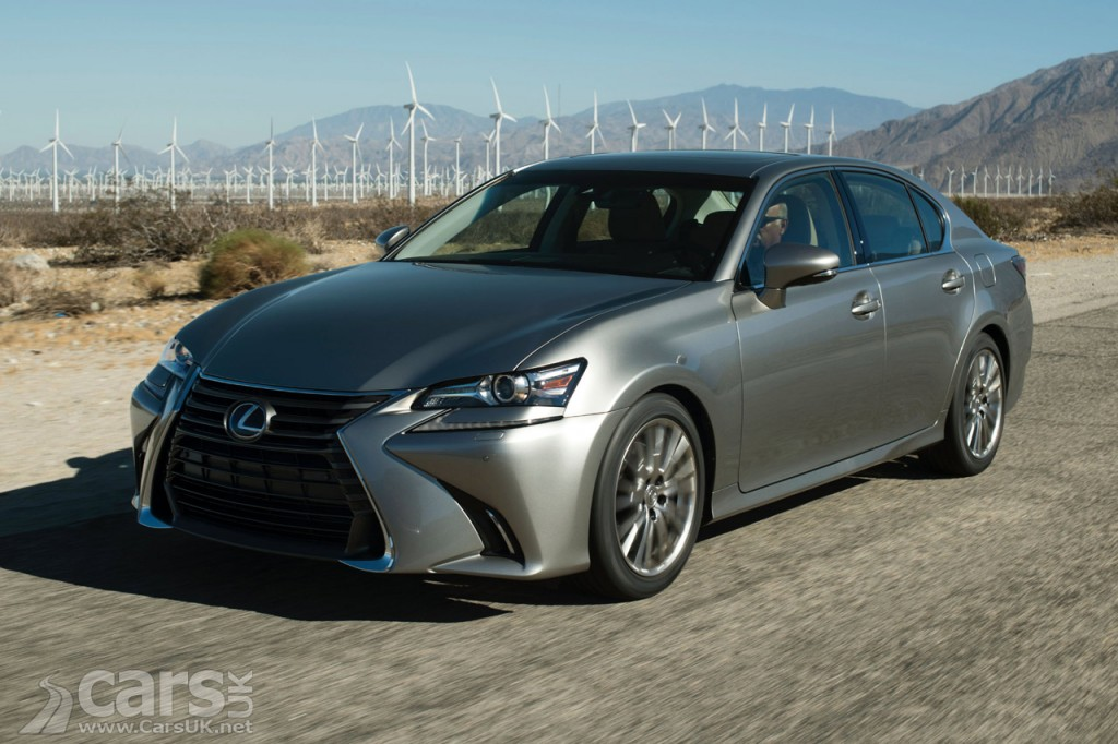 Photo Lexus GS 200t not coming to the UK