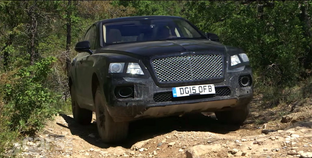 Photo Bentley Bentayga SUV shows its off-road prowess