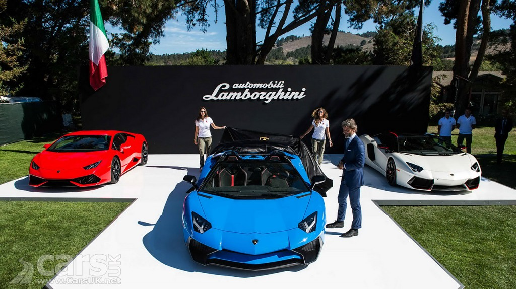 Photo The wraps come off the Lamborghini Aventador LP750-4 SV Roadster