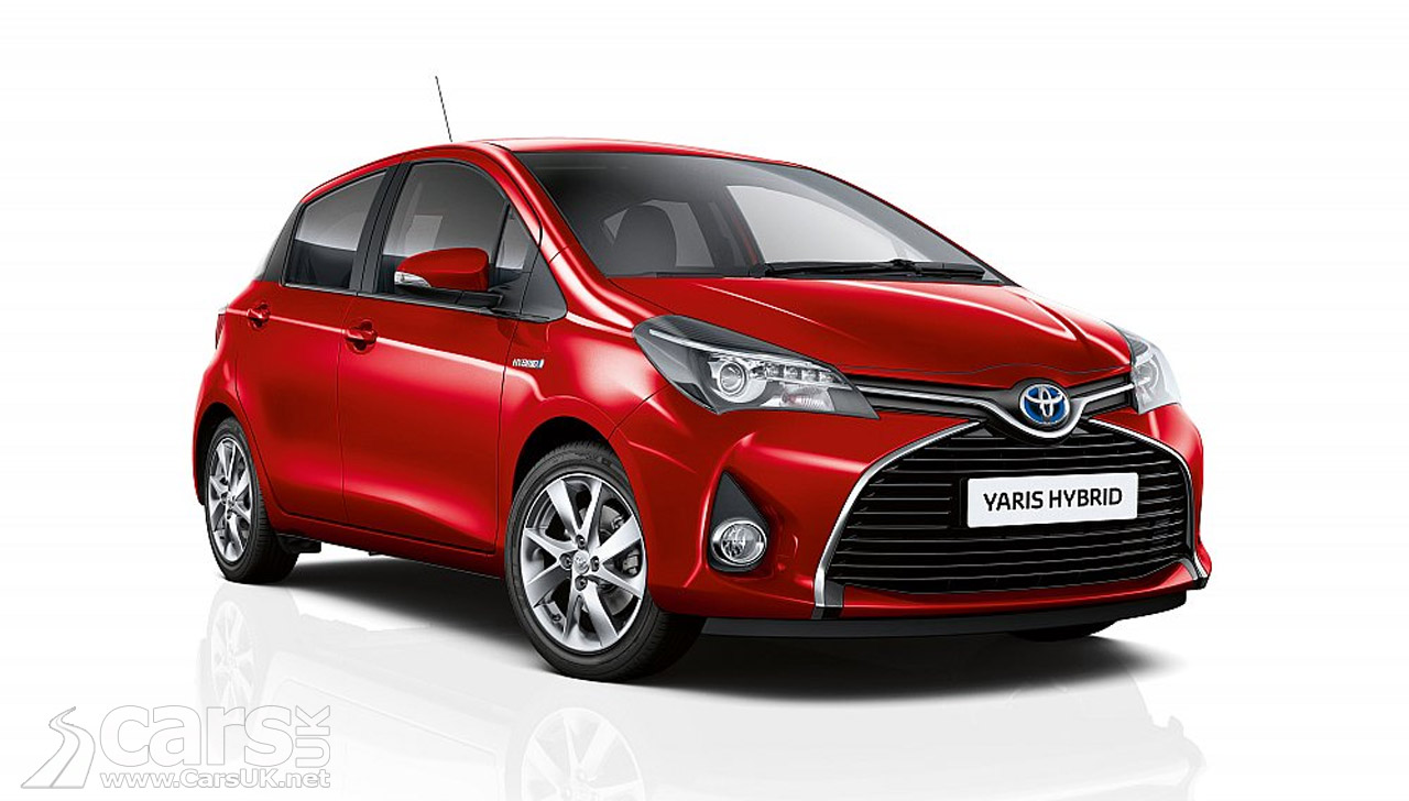 toyota yaris hybrid range extended with new sport active models cars uk. Black Bedroom Furniture Sets. Home Design Ideas