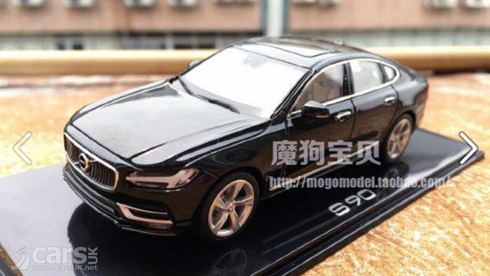 new volvo s90 revealed thanks to the chinese cars uk. Black Bedroom Furniture Sets. Home Design Ideas