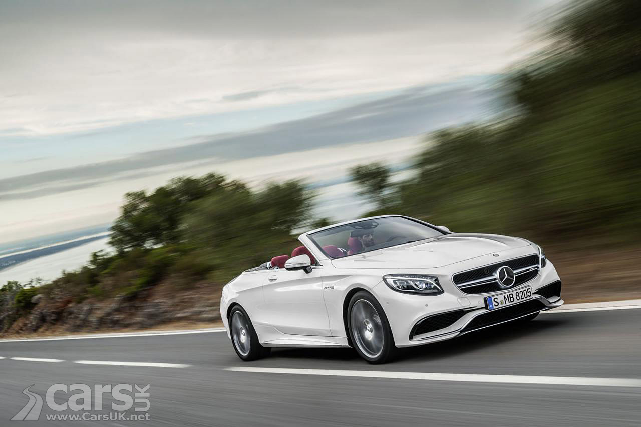 Mercedes S Cl Cabriolet Officially Revealed Ahead Of Frankfurt Debut
