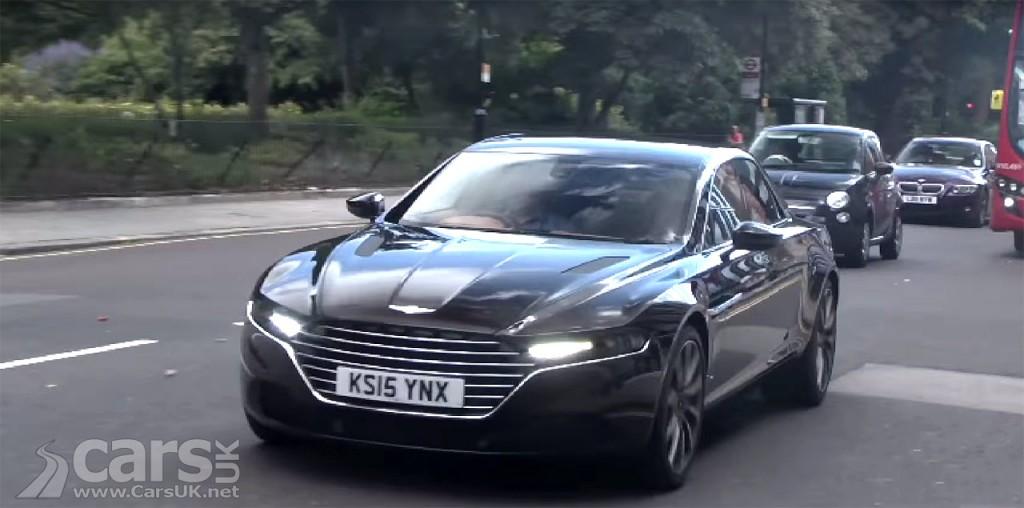 Photo First new Aston Martin Lagonda Taraf on UK roads