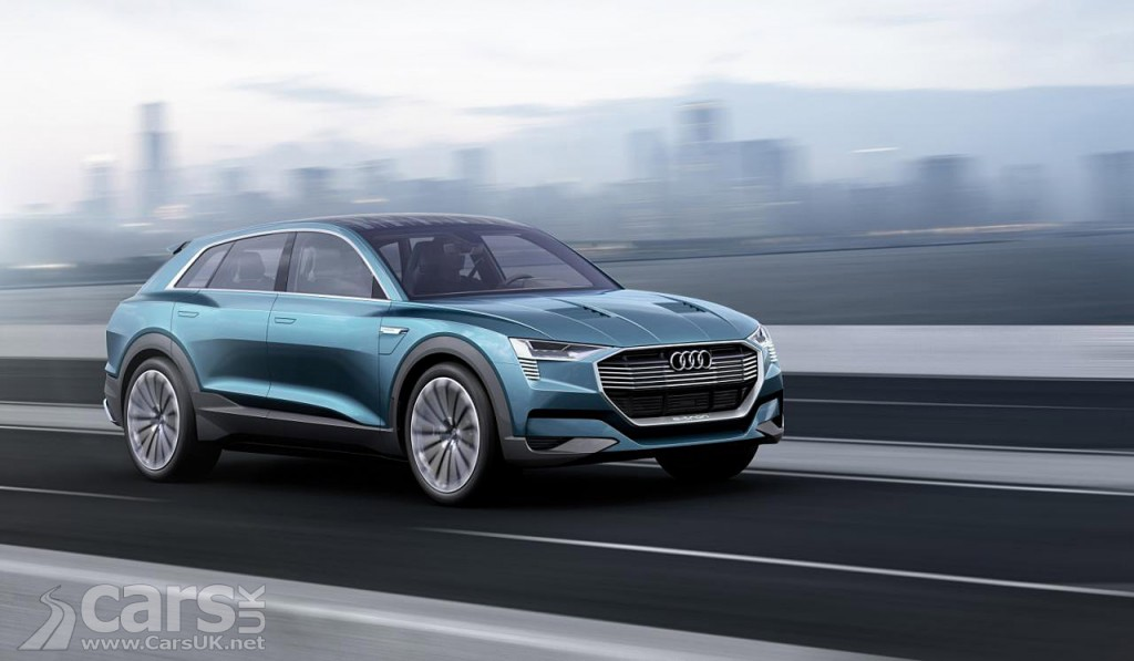 Photo Audi e-tron Quattro Concept