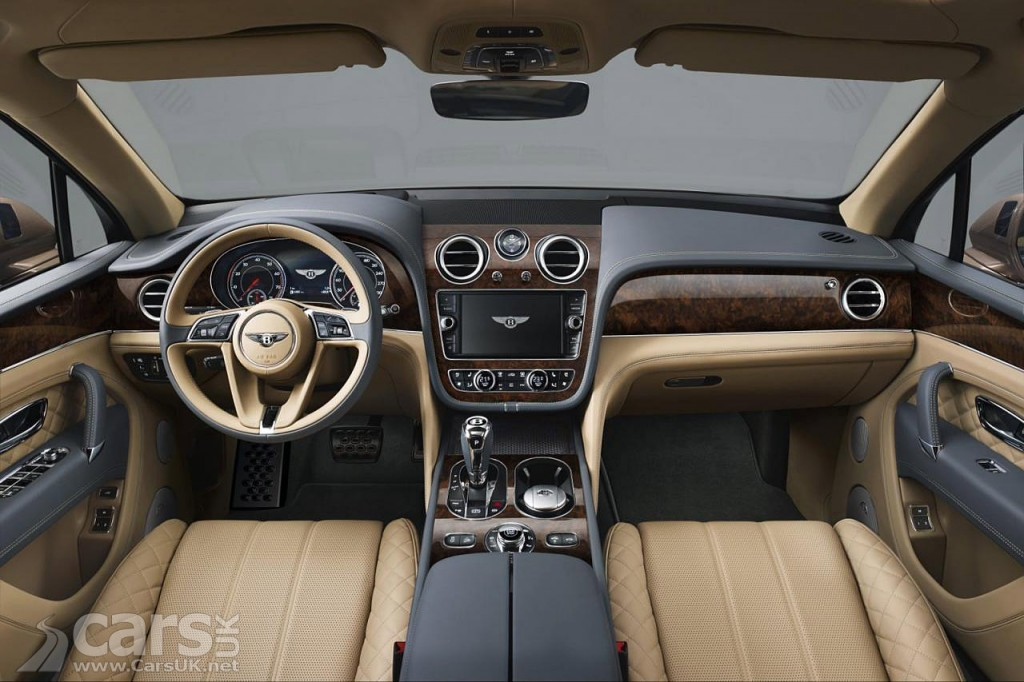 Photo Bentley Bentayga SUV Interior