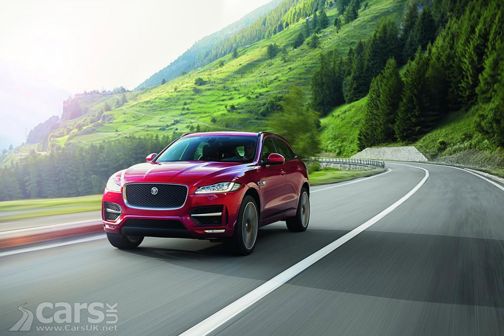 Photo Jaguar F-Pace Crossover FINALLY arrives