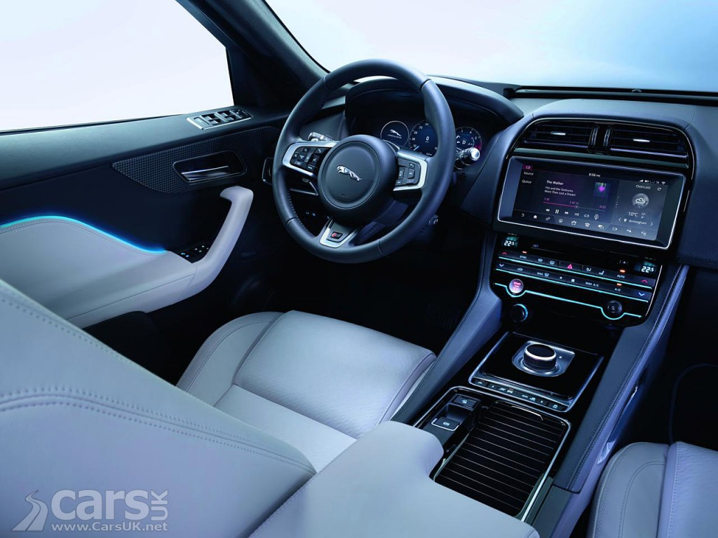 Photo Jaguar F-Pace interior