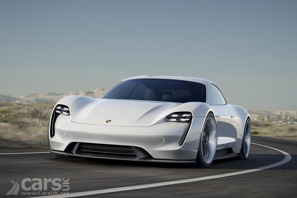 Photo Porsche Mission E Concept