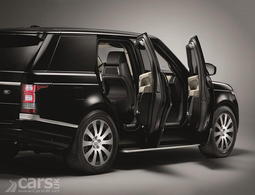 Photo Range Rover Sentinel armoured vehicle
