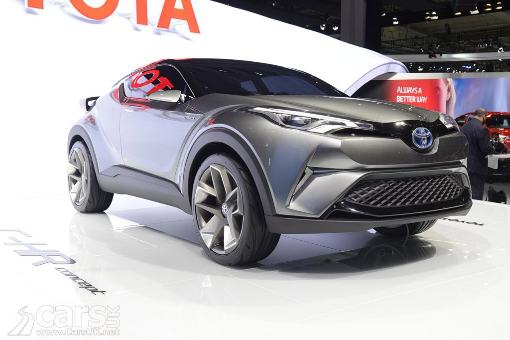 Photo New Toyota C-HR Concept Frankfurt