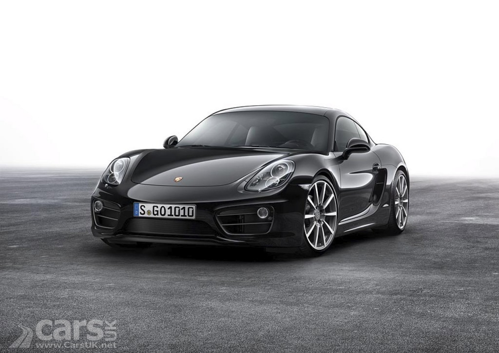 New Porsche Cayman Black Edition is All-Black