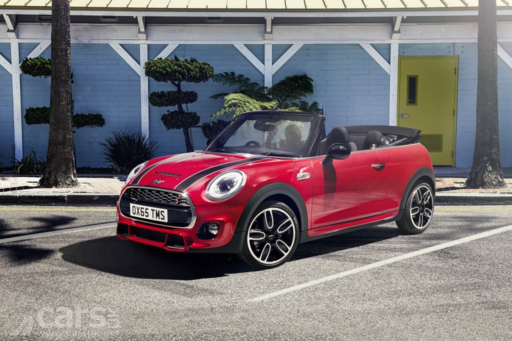 2016 Mini Convertible Arrives As Cooper Cooper D Cooper S Costs