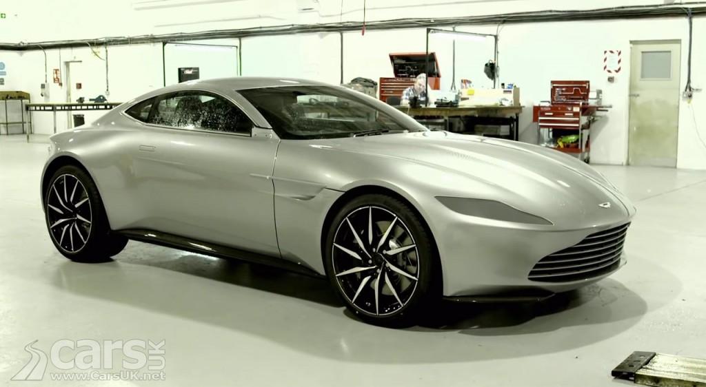 Photos Aston Martin DB10 behind the scenes on James Bond SPECTRE