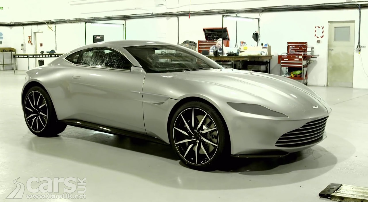 aston martin db10 behind the scenes on james bond spectre video cars uk. Black Bedroom Furniture Sets. Home Design Ideas
