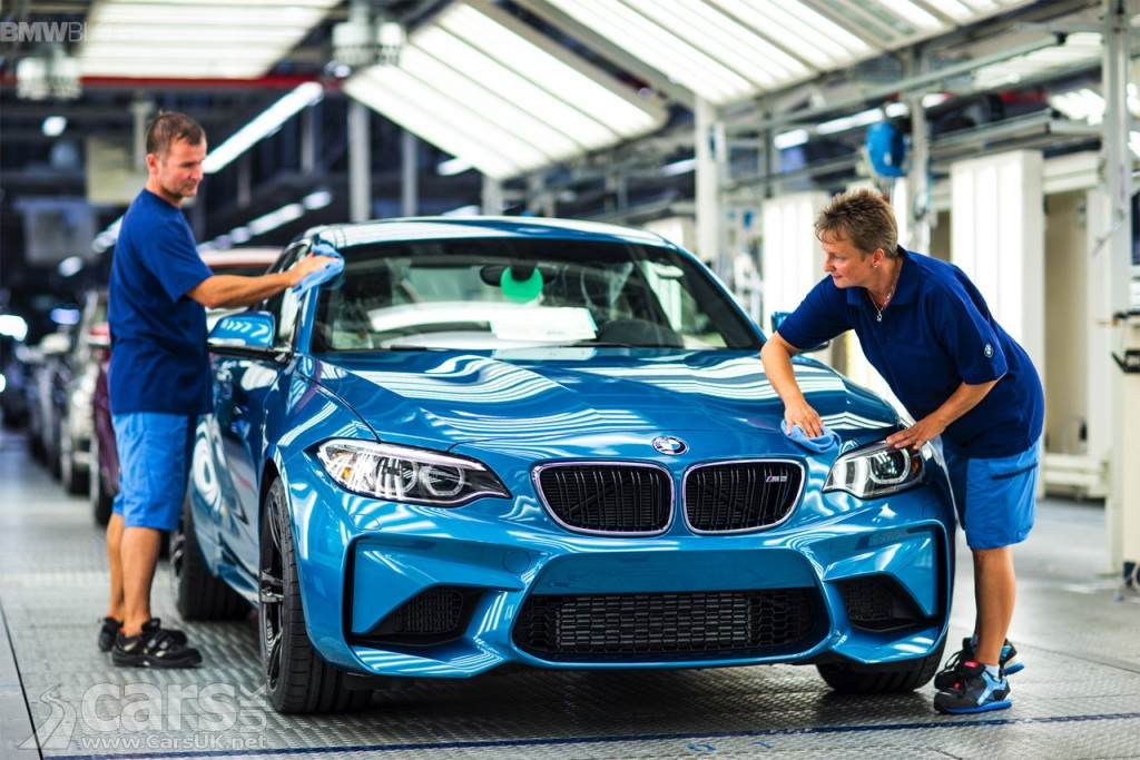 First 2016 BMW M2 rolls off the assembly line in Leipzig