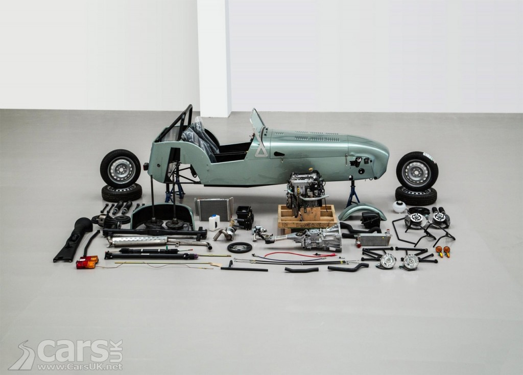 Photo Caterham Seven DIY Kit