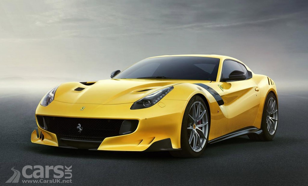 Photo yellow Ferrari F12tdf