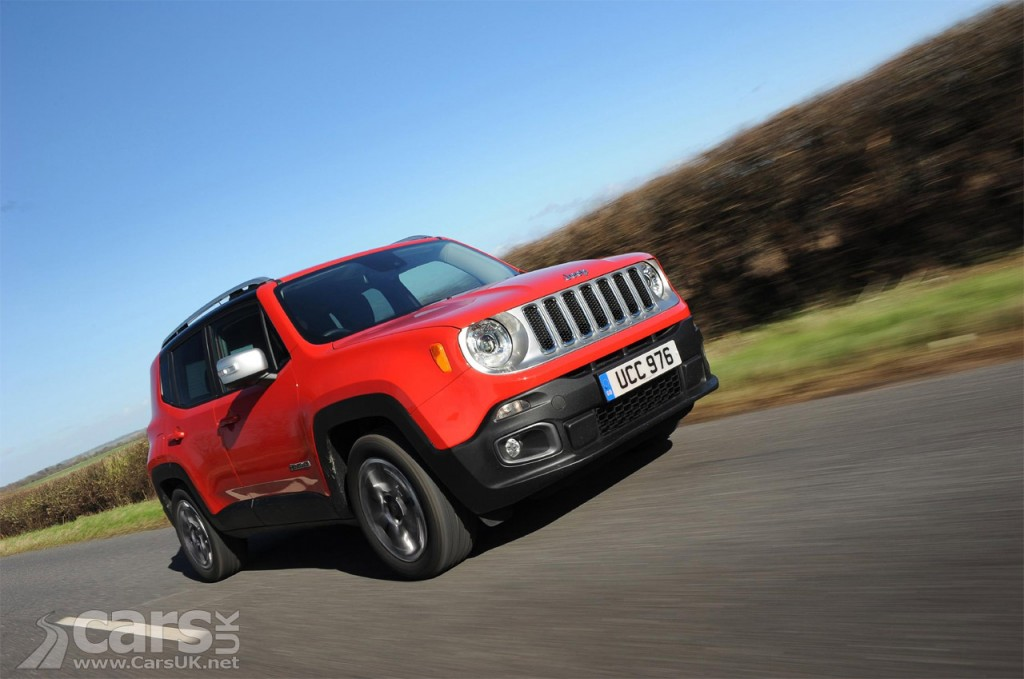 Photo Jeep sales in the UK DOUBLE as range expands