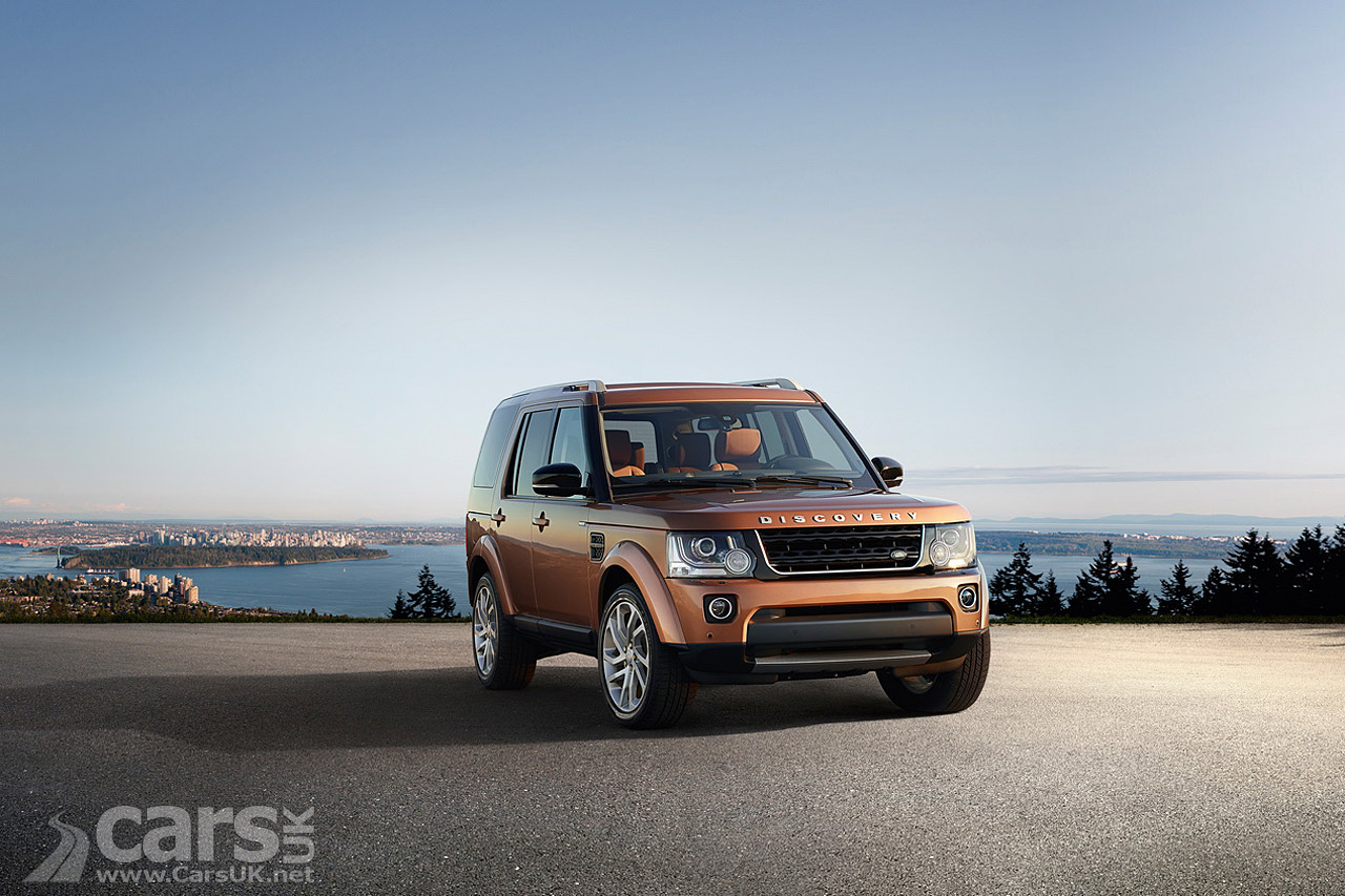 land rover discovery landmark graphite editions arrive to tempt cars uk. Black Bedroom Furniture Sets. Home Design Ideas
