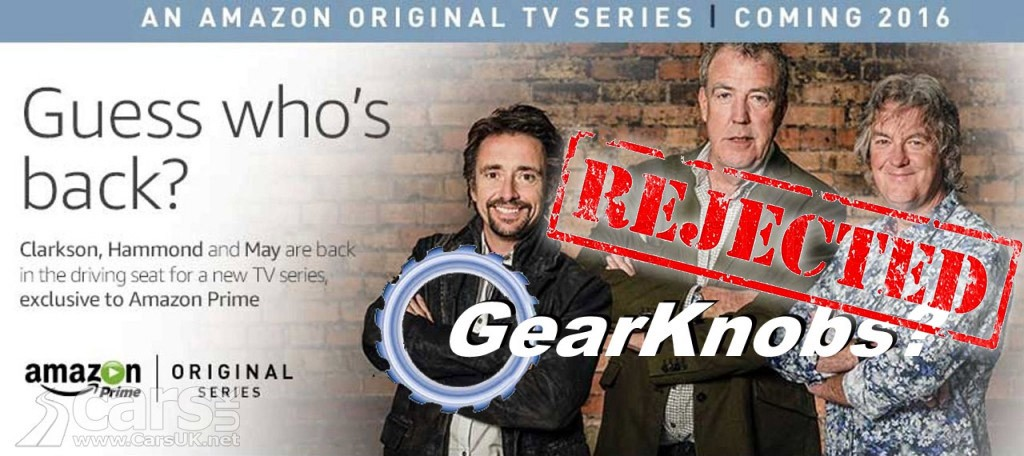 amazon 39 s 39 new 39 top gear show will not be gear knobs cars uk. Black Bedroom Furniture Sets. Home Design Ideas