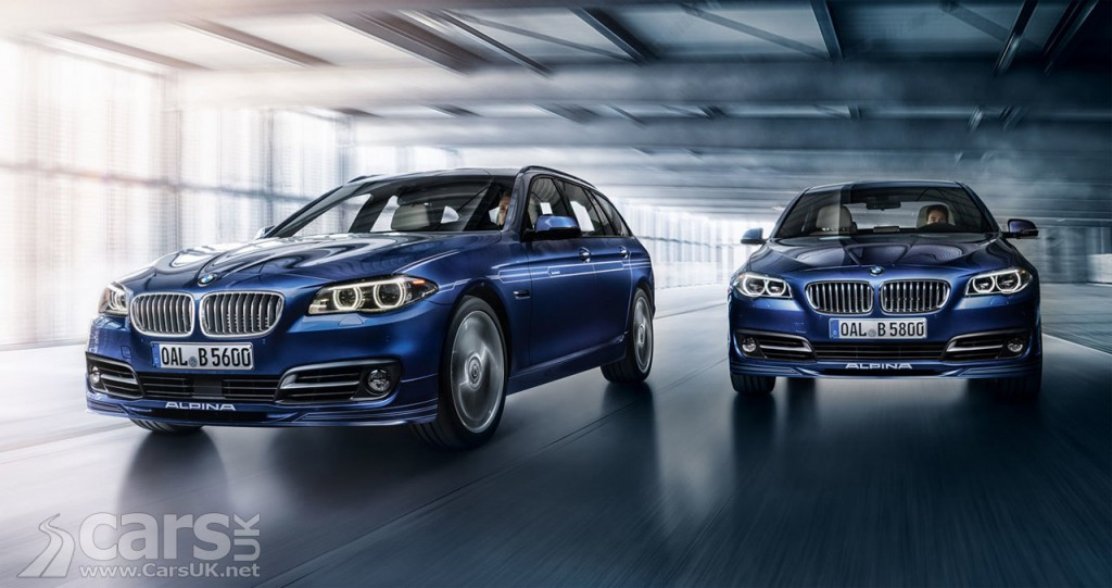 2016 Alpina B5 Biturbo Saloon and Touring