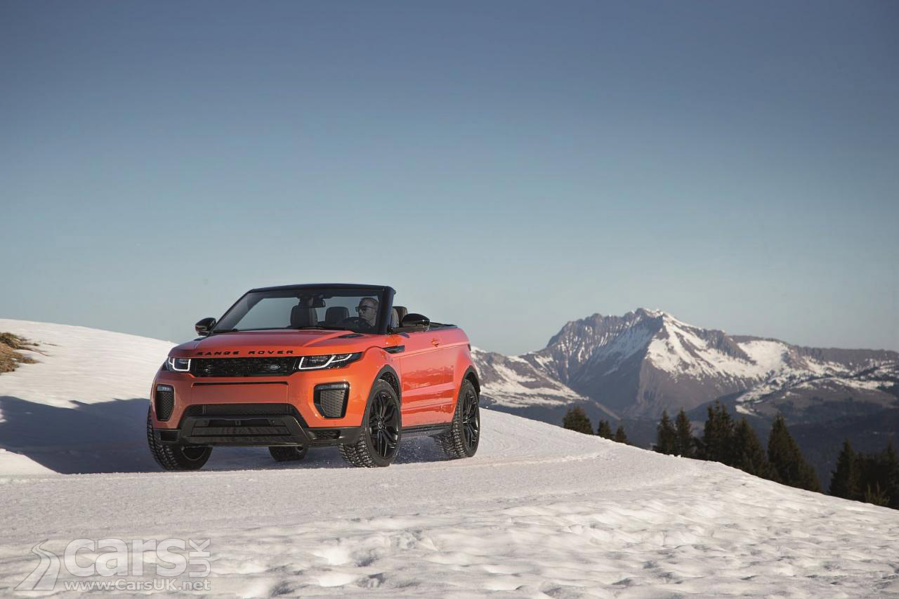2016 range rover evoque convertible arrives costs from 47 500 cars uk. Black Bedroom Furniture Sets. Home Design Ideas