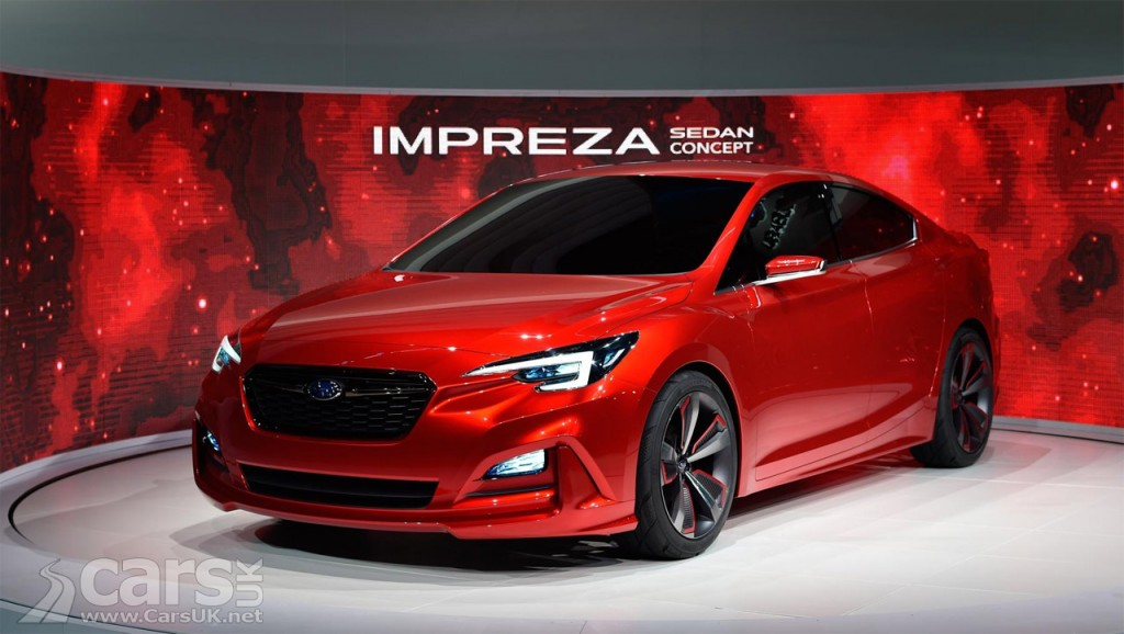 Photo Subaru Impreza Saloon Concept