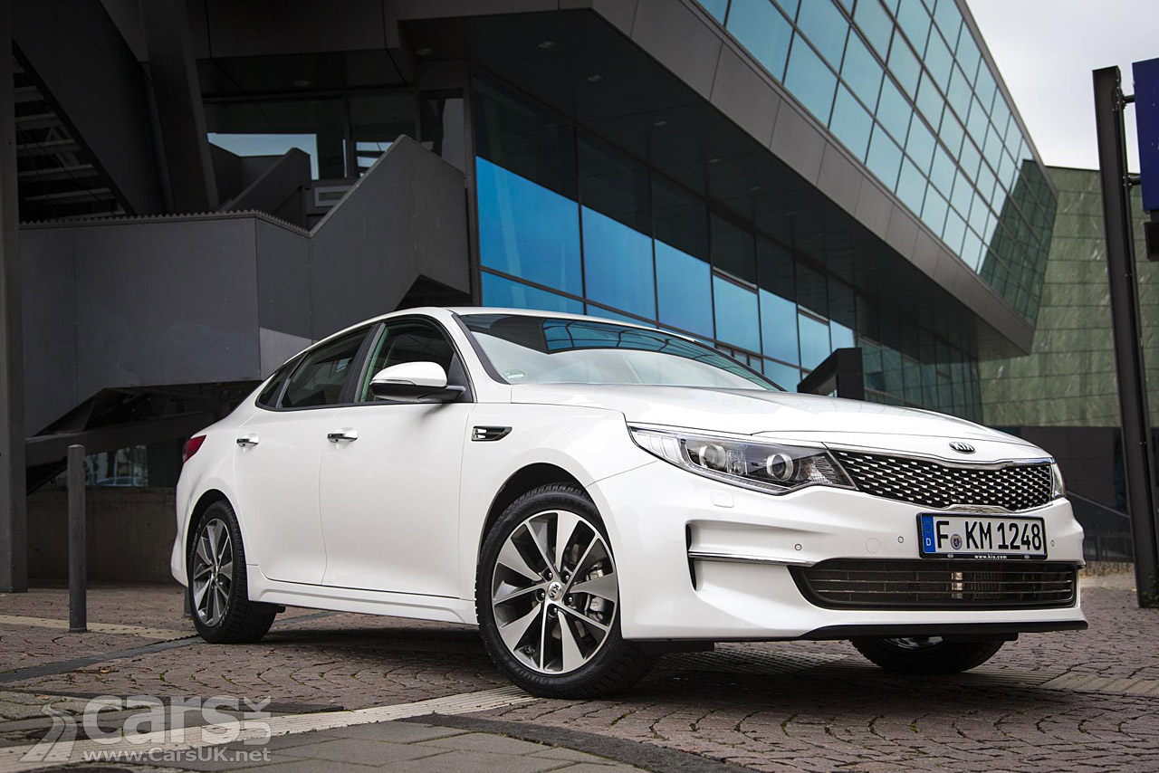 new kia optima goes on sale price from 21 495 cars uk. Black Bedroom Furniture Sets. Home Design Ideas