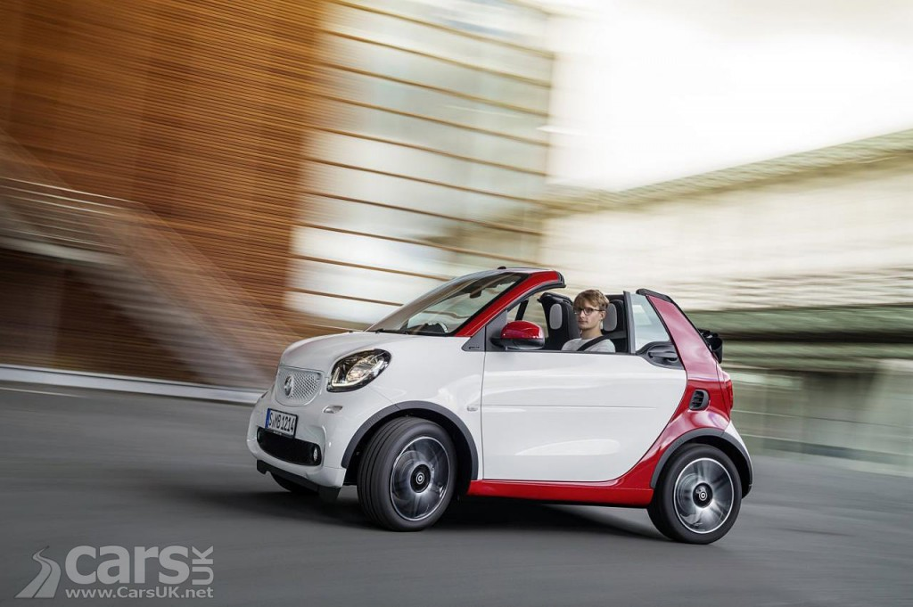 2016 smart fortwo cabrio uk price specs costs from 13 265 cars uk. Black Bedroom Furniture Sets. Home Design Ideas
