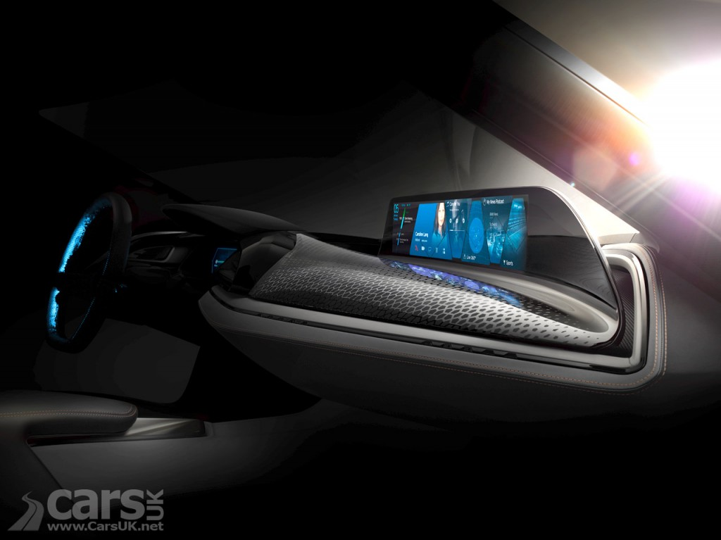 Photo BMW tease 'AirTouch' Concept for 2016 CES