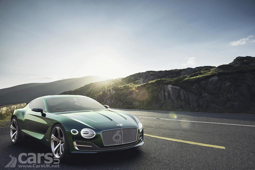 Photo Bentley EXP 10
