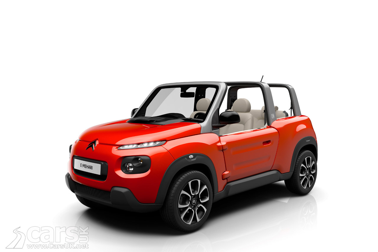 citroen e mehari electric buggy revealed but probably not for the uk cars uk. Black Bedroom Furniture Sets. Home Design Ideas