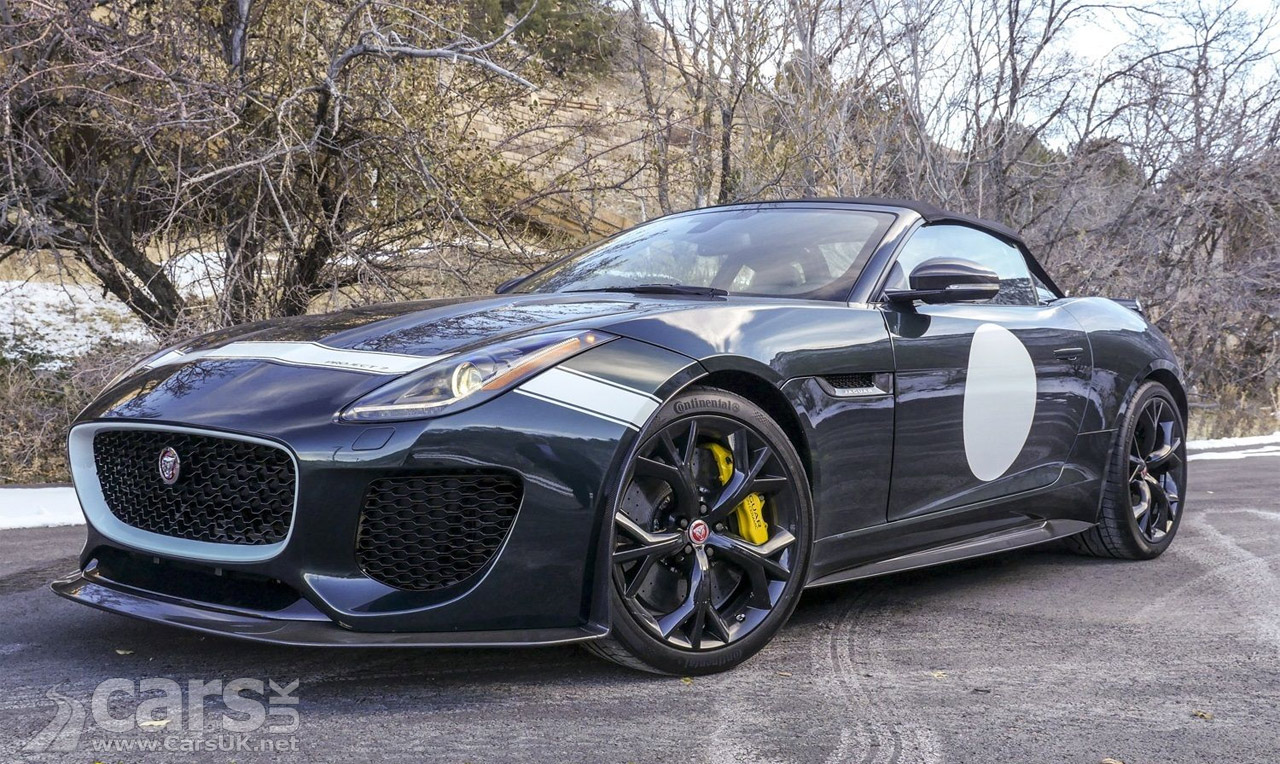 jaguar f type project 7 pops up for sale on ebay cars uk. Black Bedroom Furniture Sets. Home Design Ideas