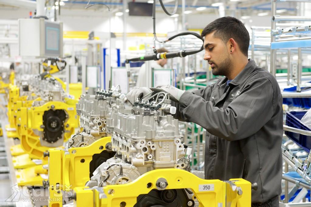 Jaguar Land Rover Ingenium Engine Manufacturing