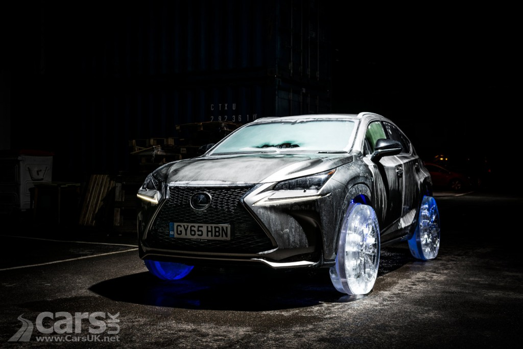Photo Lexus NX gets REAL Ice wheels and tyres